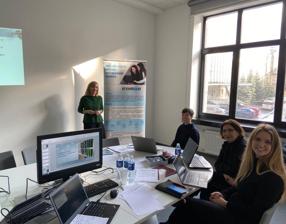 Partnerių susitikimas Lietuvoje